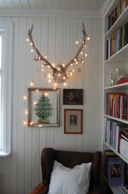 Not only are they an opportunity to add style and character, they're also a very practical accent piece. 28 String Lights Ideas For Your Holiday Décor - DigsDigs