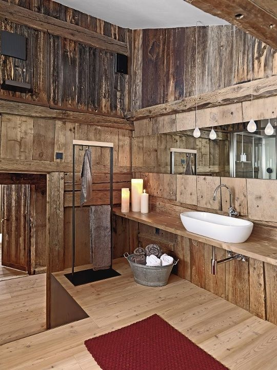 Are you looking for tips for grouting tile? 45 Stylish And Cozy Wooden Bathroom Designs - DigsDigs