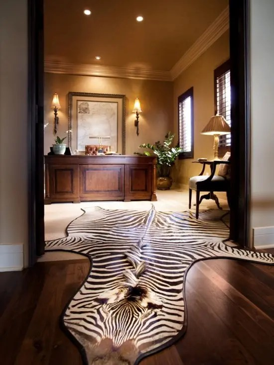 33 Stylish And Dramatic Masculine Home Office Design Ideas