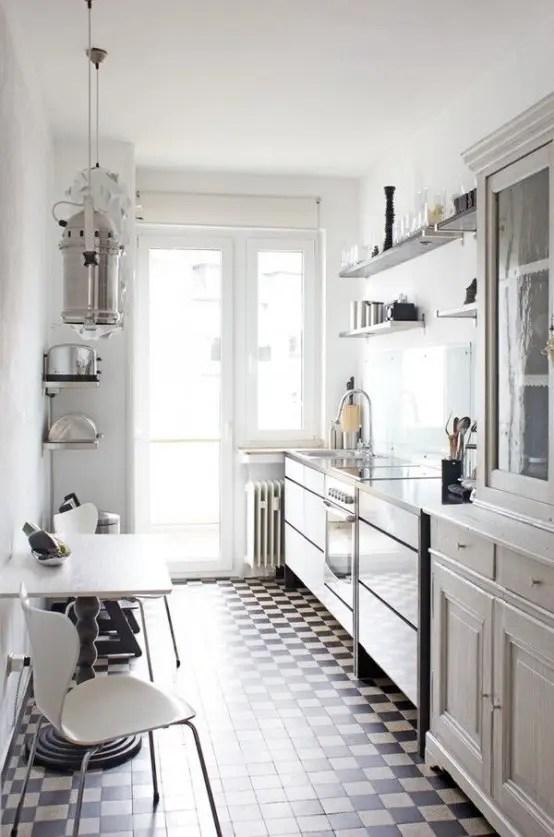 Narrow Galley Kitchen Design Ideas