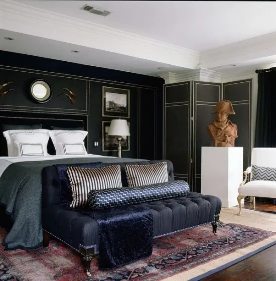 70 Stylish and Sexy Masculine Bedroom Design Ideas   DigsDigs Stylish And Sexy Masculine Bedrooms