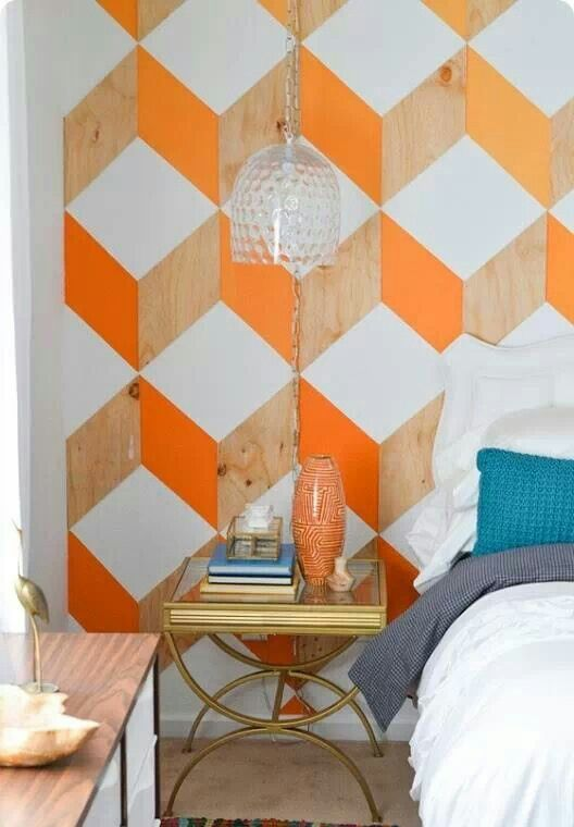 We may earn commission on some of the items you choose to buy. 24 Stylish Geometric Wall Décor Ideas - DigsDigs