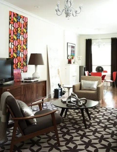 90 Stylish Mid Century Living Room Design Ideas DigsDigs