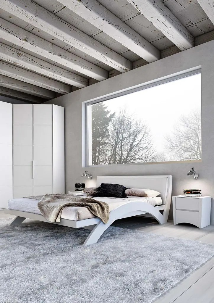 34 Stylishly Minimalist Bedroom Design Ideas | DigsDigs on Bedroom Minimalist Ideas  id=56495