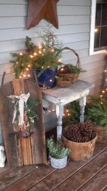 26 Super Cool Outdoor Décor Ideas With Christmas Lights ... on Patio Decorating Ideas With Lights  id=14119