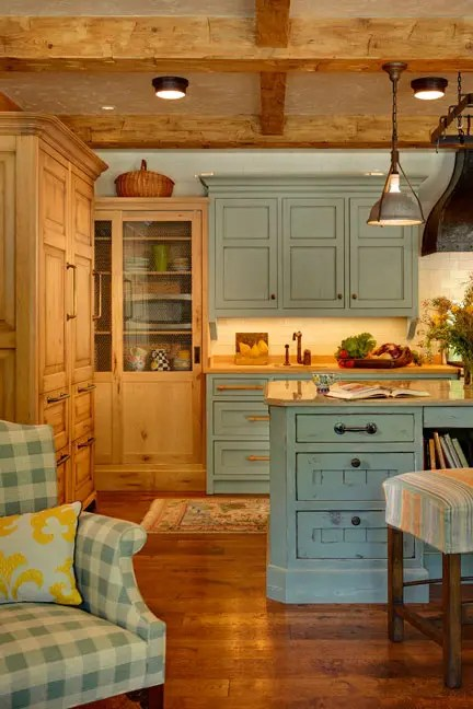 38 Super Cozy And Charming Cottage Kitchens - DigsDigs on Rustic:1Gdhjdx6F3G= Farmhouse Kitchen  id=68027