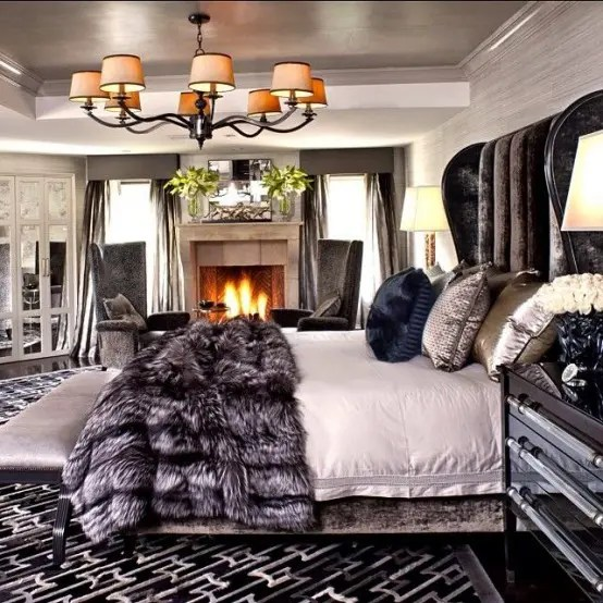27 Super Cozy And Comfy Bedrooms With A Fireplace - DigsDigs on Comfy Bedroom  id=46165