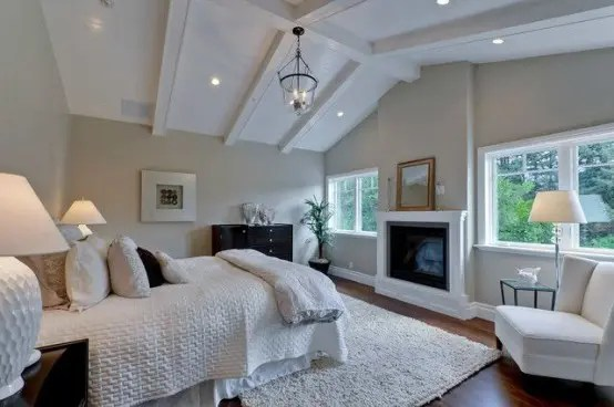 27 Super Cozy And Comfy Bedrooms With A Fireplace - DigsDigs on Comfy Bedroom  id=81774