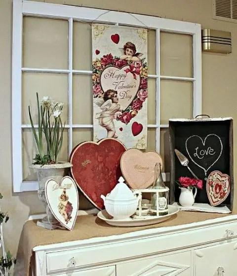 40 Sweet Shabby Chic Valentines Day Dcor Ideas
