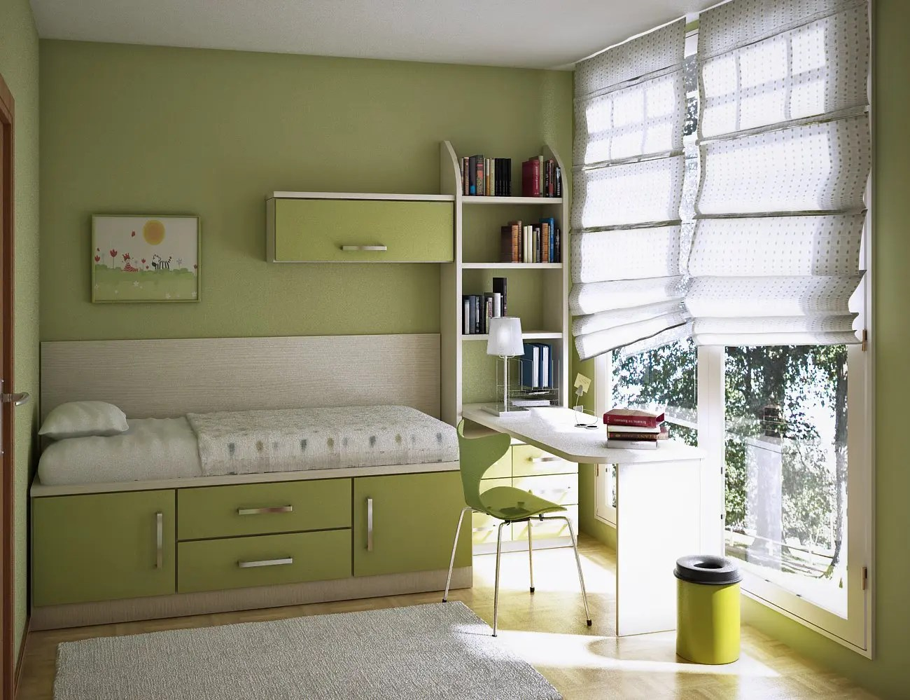 17 Cool Teen Room Ideas - DigsDigs on Rooms For Teenagers  id=60881