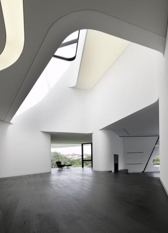 The Most Futuristic House Design In The World - DigsDigs on Minimalist:btlhhlwsf8I= Bedroom Design  id=52091
