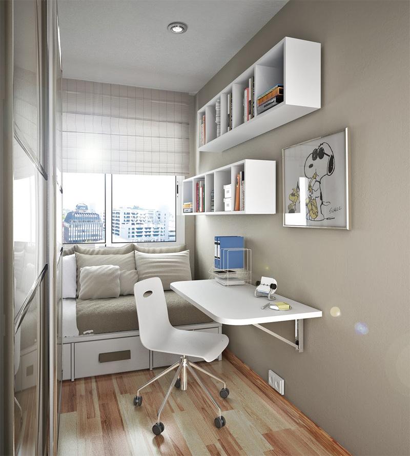 50 Thoughtful Teenage Bedroom Layouts | DigsDigs on Teen Small Bedroom Ideas  id=79873