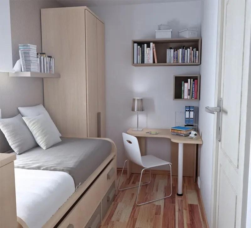 50 Thoughtful Teenage Bedroom Layouts   DigsDigs on Small Teenage Bedroom  id=36982