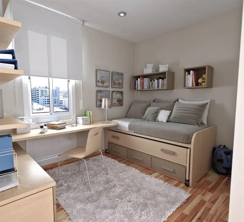 50 Thoughtful Teenage Bedroom Layouts | DigsDigs on Teenager Room  id=90977