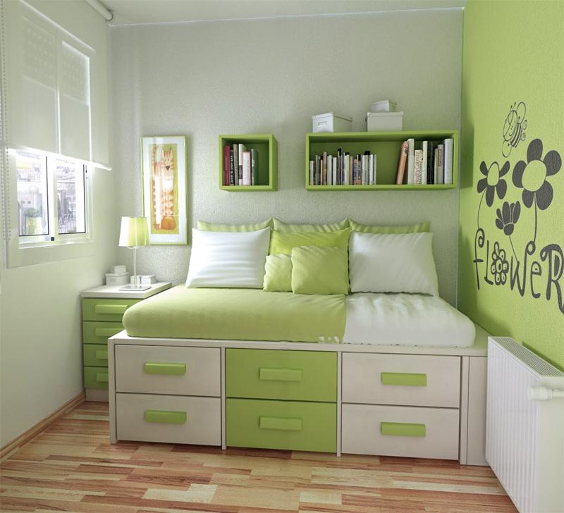 50 Thoughtful Teenage Bedroom Layouts | DigsDigs on Teenroom  id=96753