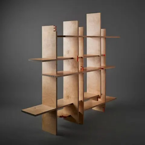 Three Dimensional And Green 841 Bookcase DigsDigs