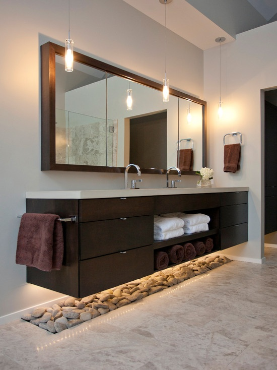 Top 10 Bathroom Decor Trends And 45 Examples - DigsDigs on Popular Bathroom Ideas  id=12226