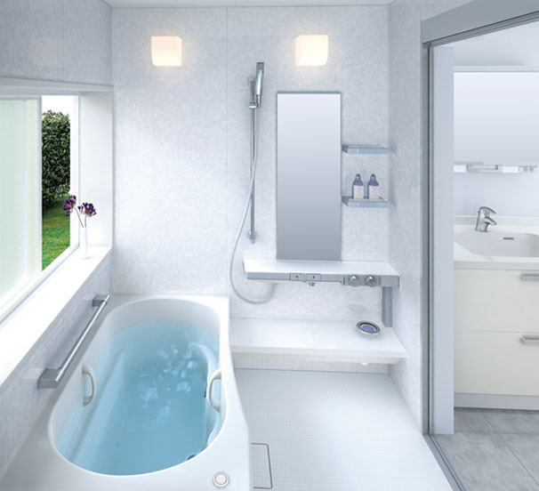 Small Bathroom Layouts by TOTO - DigsDigs on Small Space Small Bathroom Ideas With Bath And Shower id=80480