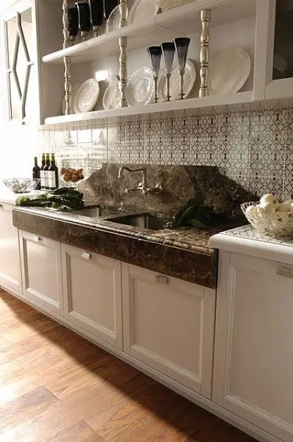 Apartment Kitchen Countertop Decorating Ideas