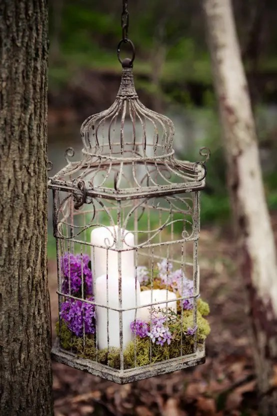 Bird Cage Decorations