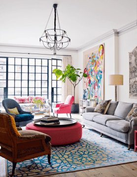 Vivacious Manhattan Townhouse With Eclectic Interiors   DigsDigs Vivacious Manhattan Townhouse With Eclectic Interiors