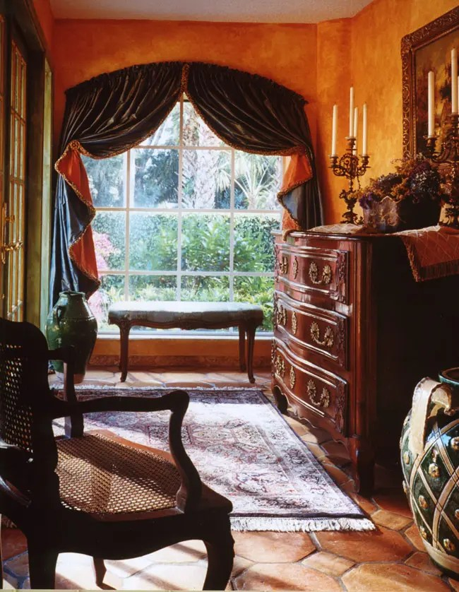 Warm Bedrooms Design In Old School Style By Maura Taft