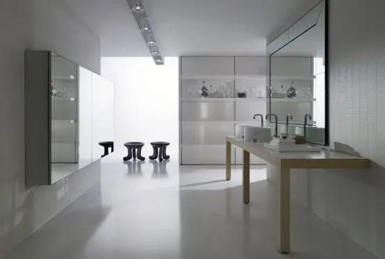 Warm Big Bathroom Inspiration