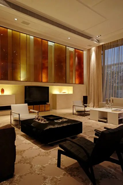 Warm House Interior Design In China By Thomas Chan Digsdigs