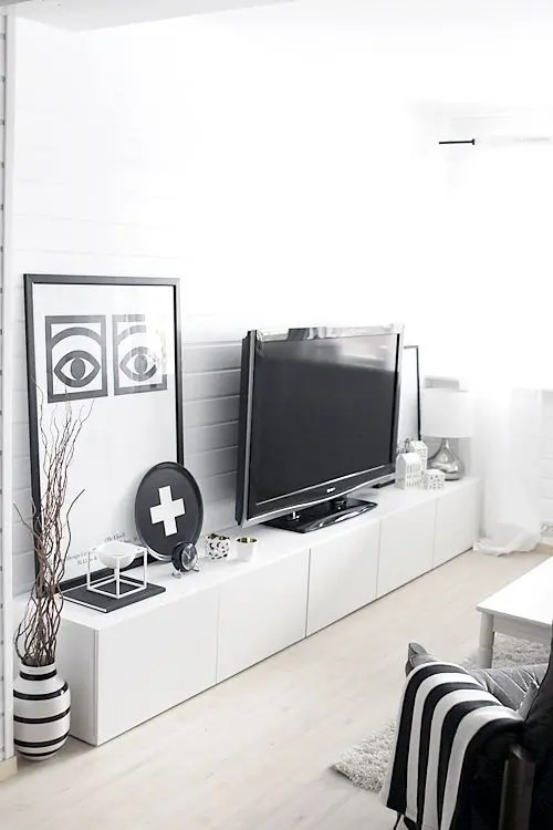 55 ways to use ikea besta units in home