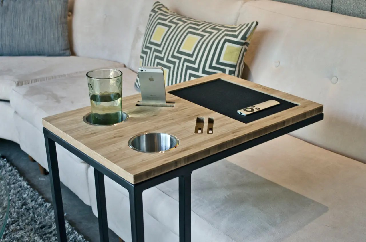 Your Sofas Best Friend Caddy Table DigsDigs
