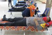 HUT Bhayangkara ke-74Polresta Deli Serdang Gelar Bakti Sosial Donor Darah
