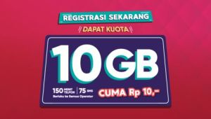 Telkomsel Tawarkan Kuota Internet 10GB