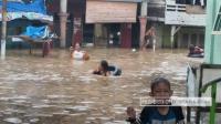 Curah Hujan Tinggi, Kampung Aur Banjir Setinggi 1 Meter