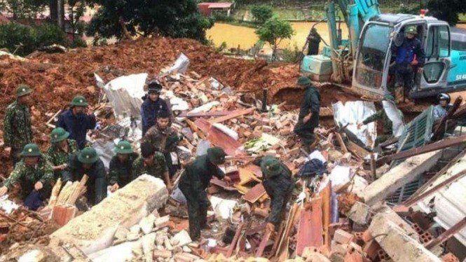Longsor di Quang Tri, 14 Tentara Tewas dan 8 Masih Dicari