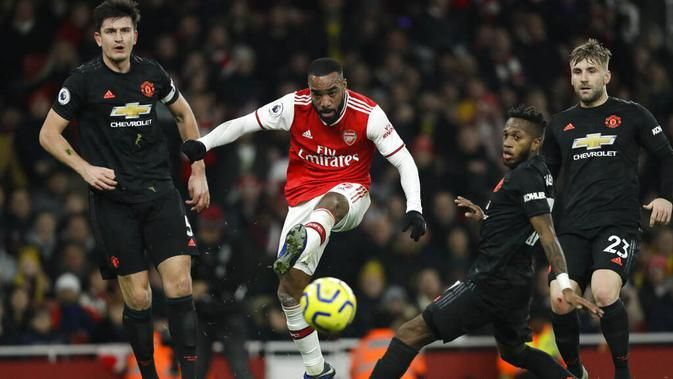 Jadwal Pertandingan Liga Inggris Malam Ini: Manchester United Vs Arsenal