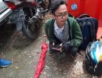 Bawa Klewang, Pengendara Sepeda Motor Ditangkap saat Demo