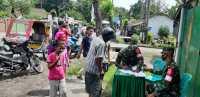Topdam I/BB Lakukan Operasi Pendisplinan Protkes di Kecamatan Medan Barat