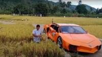 Petani Aceh Sulap Motor Jadi Mirip Lamborghini Hotman Paris