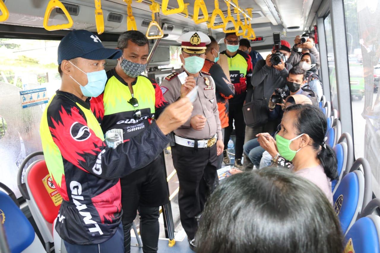 Sebanyak 5.000 Sumut Card Dibagikan Gratis sebagai e–money Bus Trans Metro Deli