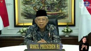 Wapres KH Ma'ruf Amin Apresiasi Jurnalisme Perubahan Perilaku