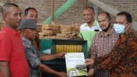 LPPM Unimed Beri Pelatihan dan Sumbang Mesin Pencacah Pakan Ternak Alternatif