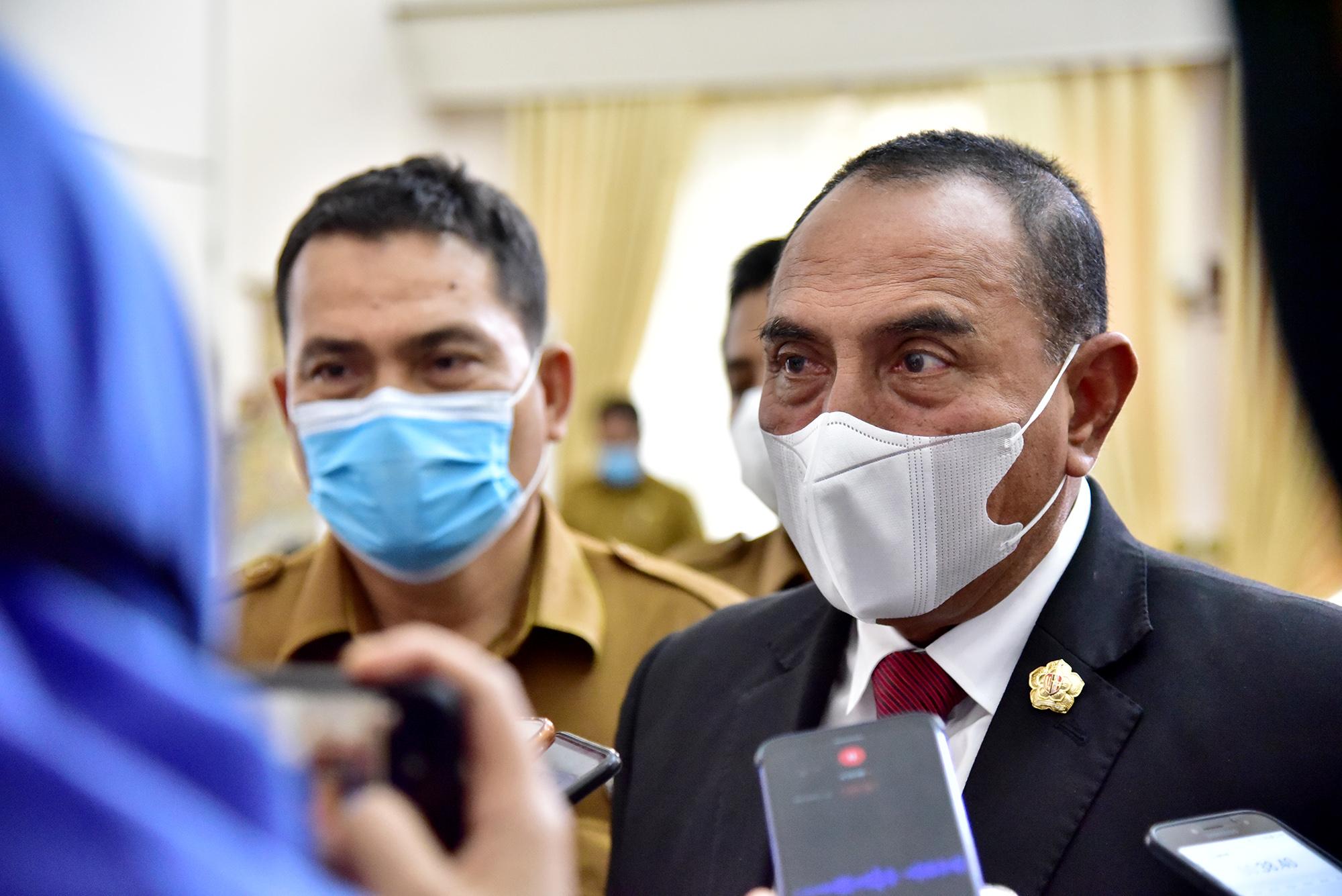 Suntik Vaksin Covid-19 di Sumut, Gubernur Edy SiapJadi yang Pertama
