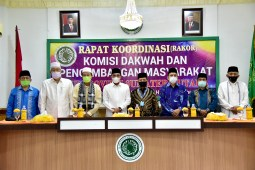 Buka Rakor MUI Sumut, Gubernur: Dakwah Harus Tetap Berjalan Walau Pandemi Covid-19