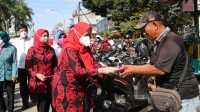 TP PKK Kota Medan Sosialisasi Gebrak Masker di Kecamatan Medan Kota