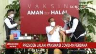 Presiden Jokowi Kembali Disuntik Presiden Jokowi Disuntik Vaksin Covid-19