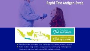 Infografis: Batas Tarif Tertinggi Pemeriksaan Rapid Test Antigen dan Swab