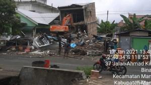 Korban Meninggal Gempa di Sulbar Update BNPB: 19.435 Orang Mengungsi Pascagempa Sulbar
