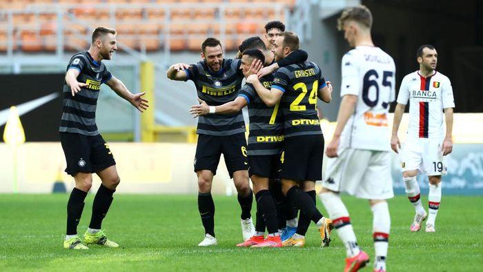 Liga Italia: Menang 3-0 atas Genoa, Inter Milan Makin Kokoh di Puncak Klasemen