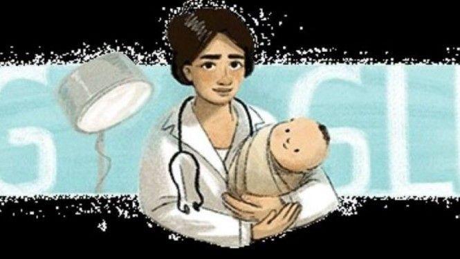 Karikatur Dokter Marie Thomas Muncul di Google Doodle, Ini Penjelasannya
