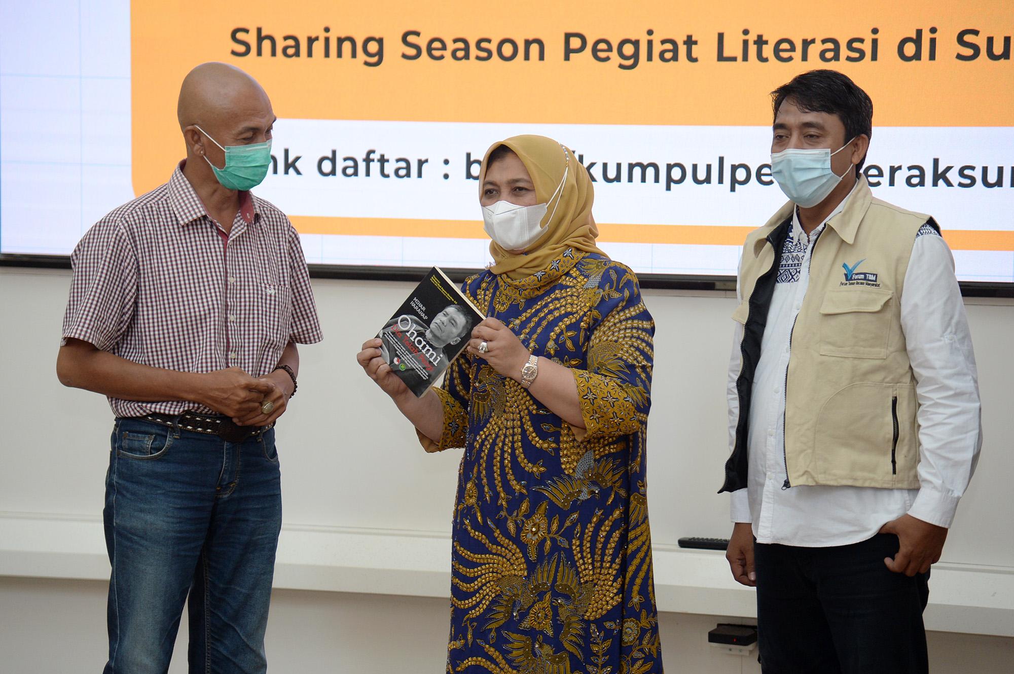 Bersinergi dengan Pegiat Literasi, Gemar Membaca di Sumut Dapat Ditingkatkan